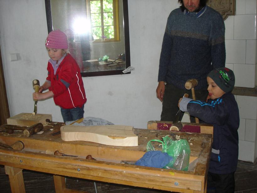 Dětský den na Krásné 2. 6. 2012 - ateliér Tilia