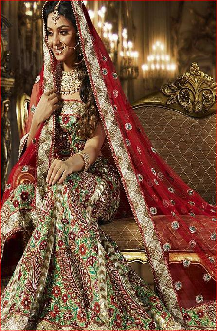 Neo bollywood pakistani wedding dresses images for Online pakistani wedding dresses