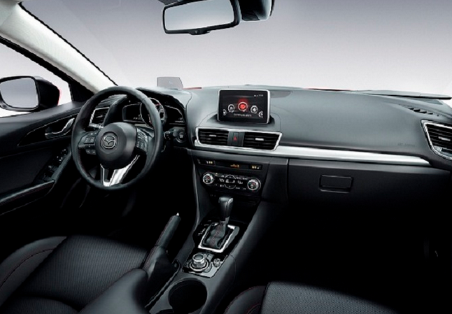 2016 Mazda speed3 Interior