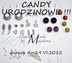 Candy urodzinowe u Majaleny