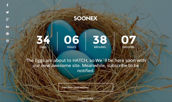 soonex blogger template