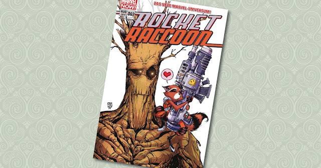 Rocket Raccoon 2 Panini Cover