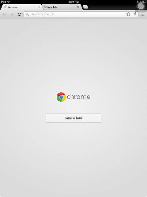 Google Chrome for iOS Devices iPad and iPhone