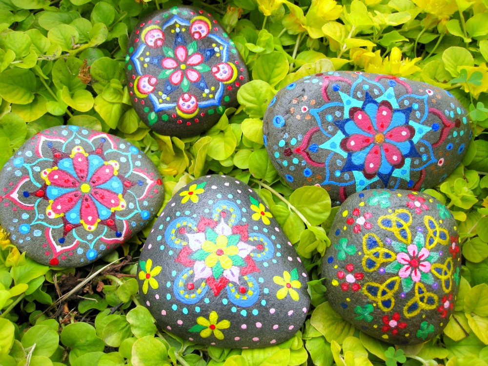 Art potatoes for Pretty designs to paint