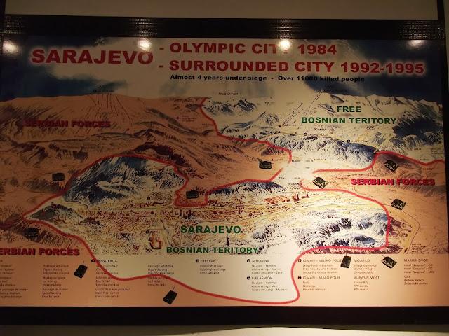 Mapa que explica la ubicación del túnel