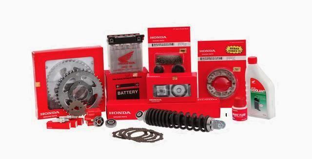 Harga Spare Part Asli Motor Honda Lengkap Terbaru 2014