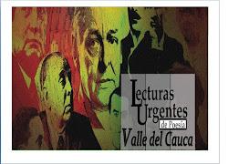 Lecturas Urgentes de Poesía Valle del Cauca