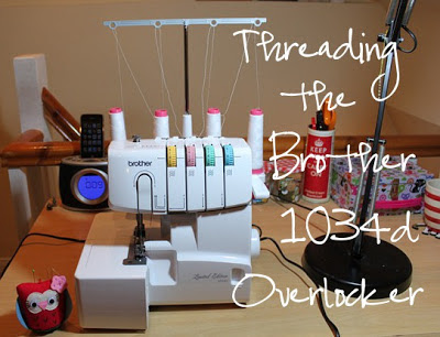 Su Sews So So: Threading the Brother 1034d Overlocker tutorial