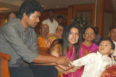 Vijay Family  in Vikranth Wedding