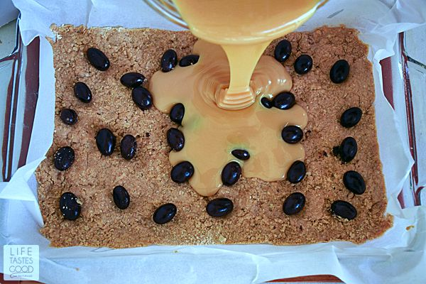 Chocolate Caramel Bars | by Life Tastes Good