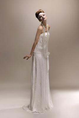 robe de mariée gatsby retro