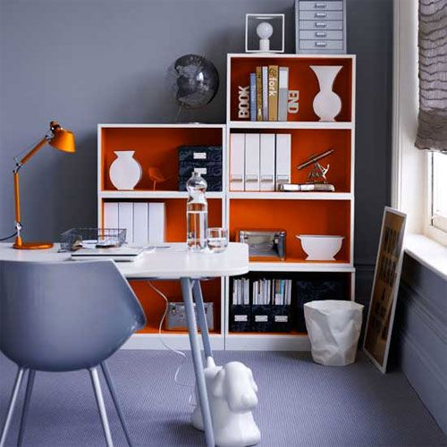 Home office decor ideas fresh ideas decorating home office for Home office wall decor ideas