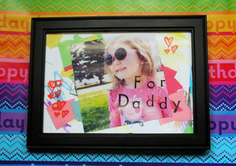 kids art frame