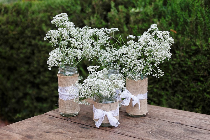 5 tipos de flores para decorar una boda r stica blog de for Decoracion rustica para bodas