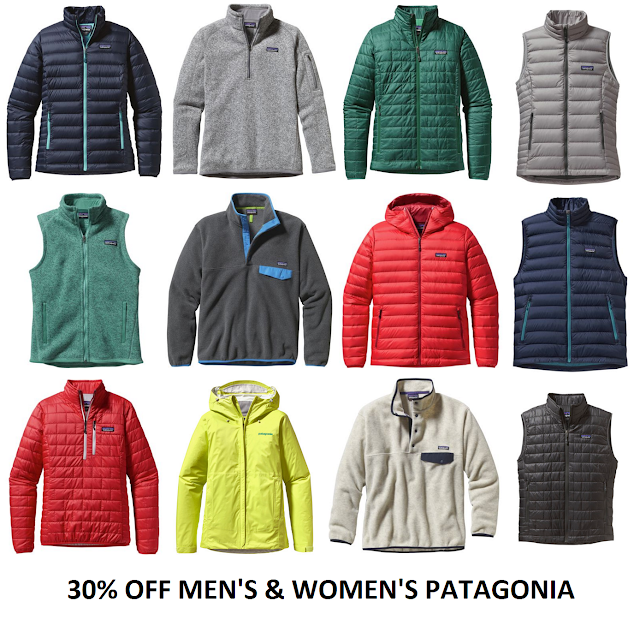 5 day sale at back country- 30% off patagonia