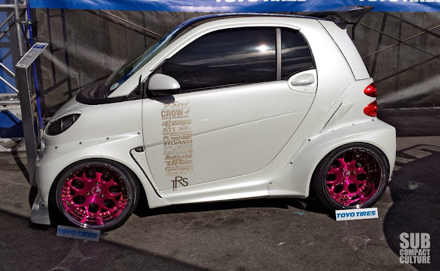Tricked-out Smart ForTwo from SEMA