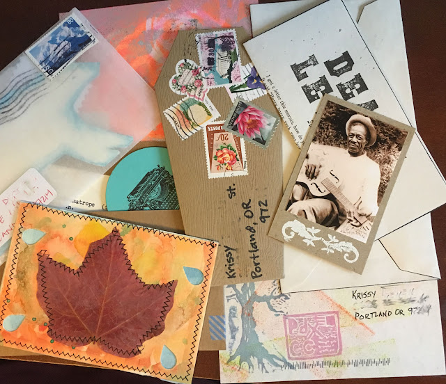 mail art from mail club members - ponyboypress.com