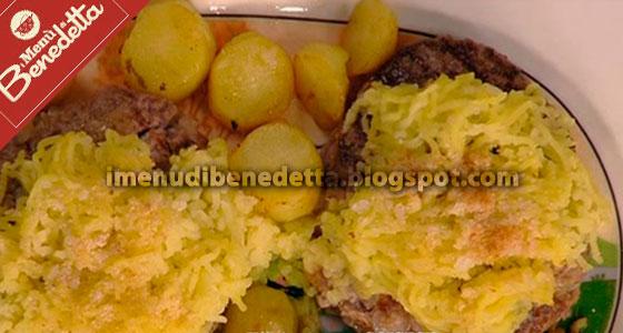 Hamburger Velocissimo con le Patate di Benedetta Parodi