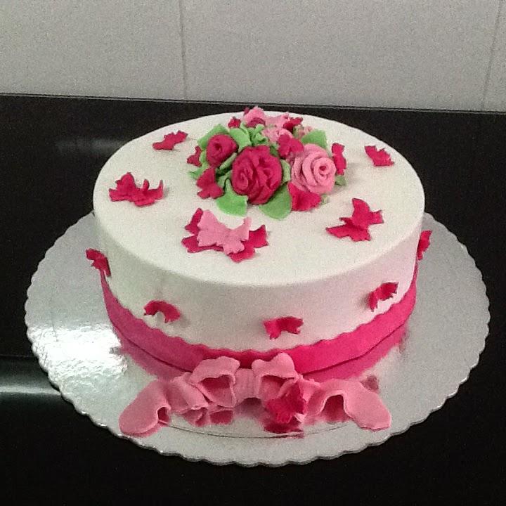 Flower Cake Designer Bolos De Aniversário