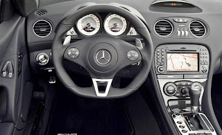 mercedes benz sl63 amg interior