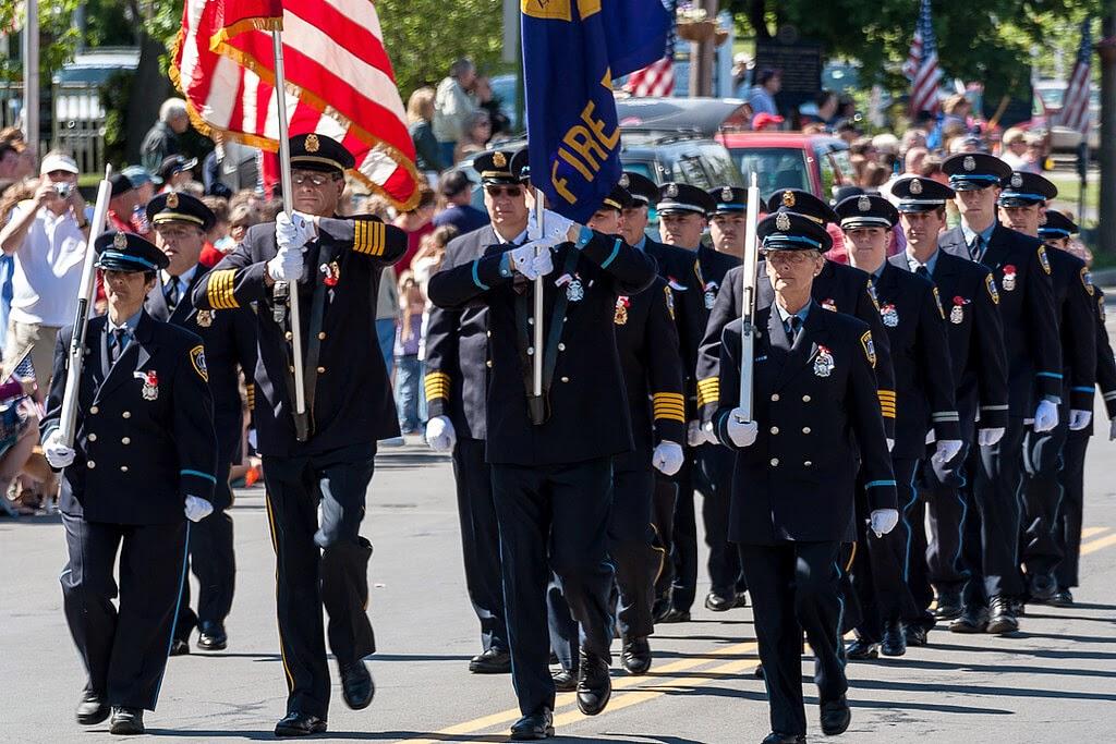 Memorial Day Weekend US Parade