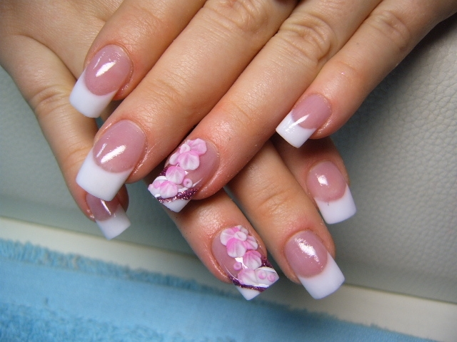 Nail Art Flower Style Pictures