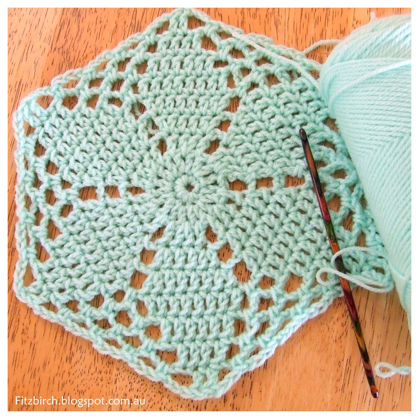 FitzBirch Crafts: Favourite Free Crochet Hexagon Patterns