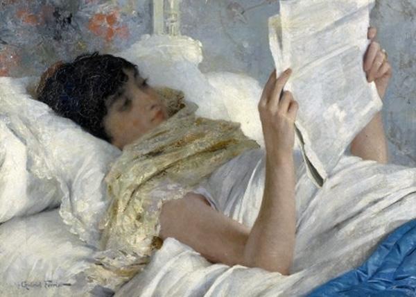 gabriel ferrier reading