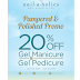 Nailaholics Gel Manicure at 20% Off! [Sale…
