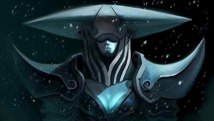 Lissandra girl art League of Legends