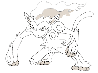 Image Pokemon Infernape Coloring Pages Download Infernape Coloring Pages