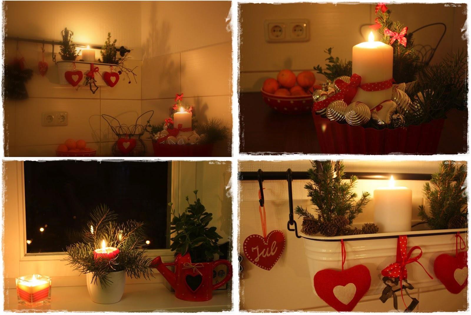 elbegl ck weihnachten zieht in die k che ein. Black Bedroom Furniture Sets. Home Design Ideas