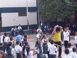Visitando colegios