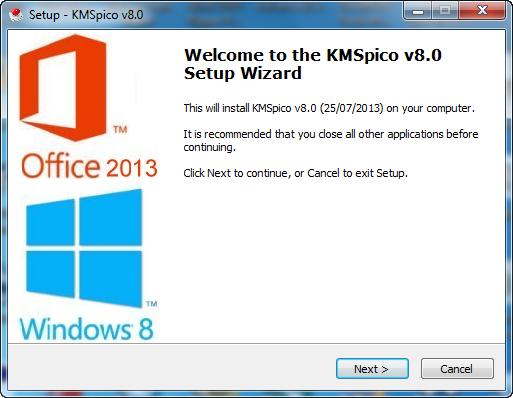 download office 2013 activator (kmspico 9.1.3)