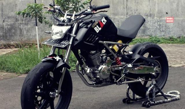 Foto Modifikasi Motor Honda Tiger Terbaru 2015