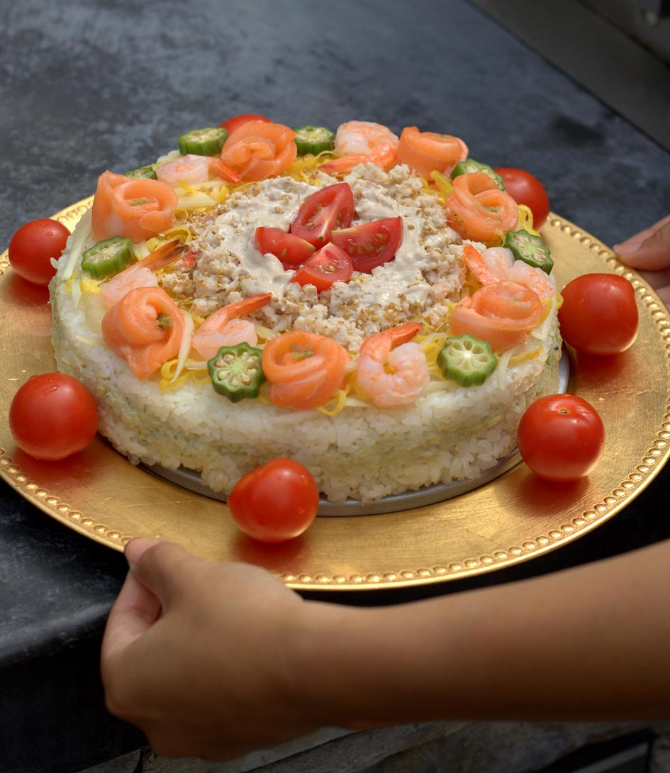 Spice Up Your Life With a Taste of Japan: Sushi Cake!