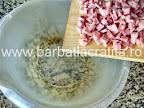 Chec aperitiv preparare reteta - bucatele de sunca presata