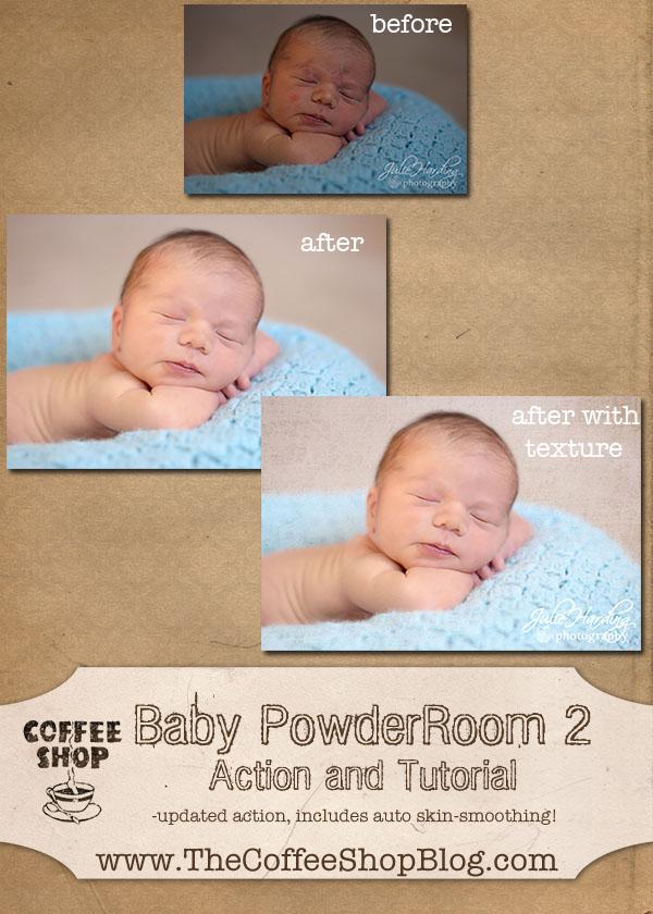 Coffeeshop Actions Baby Powder Room