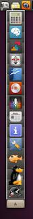 Ubuntu drawer on action