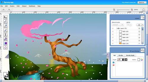 Vector Graphics Editor Creator