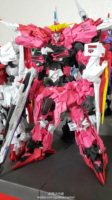 Cool Origami Style Gundam Models