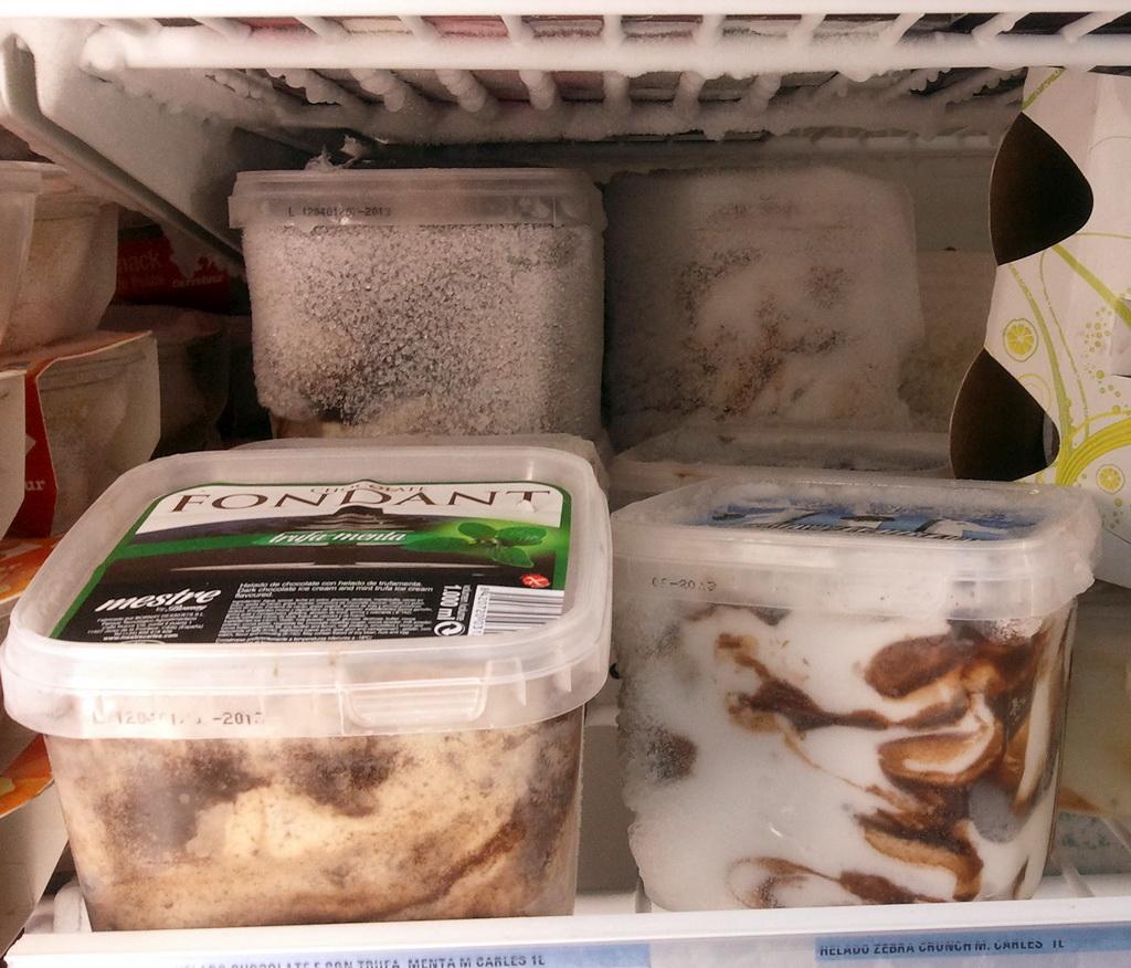 Harto de carrefour la inexistente cadena de frio y el caso de los helados h agen dazs en mal - Alimentos frios ...