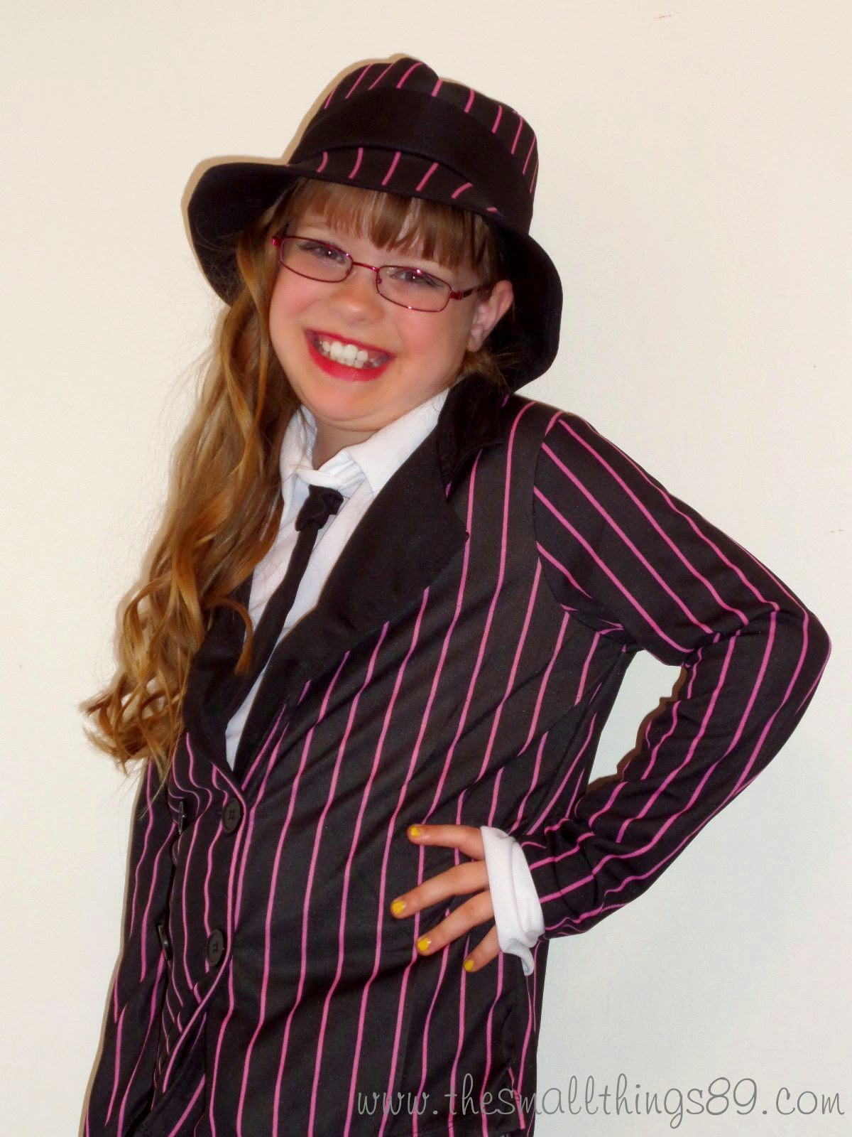 fright catalog- kid's gangsta girl costume {#review} ~ the small things