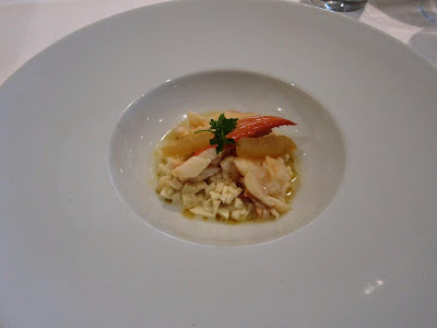 Heart of Palm risotto at Le Papillon