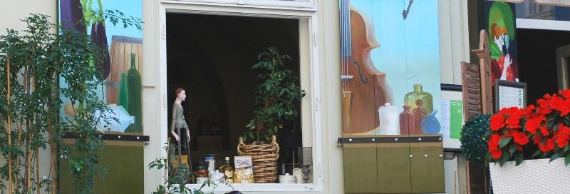 cafe w Pradze
