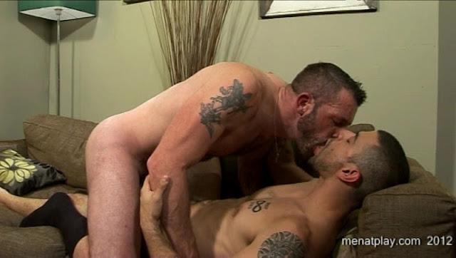 Male gay masturbation
