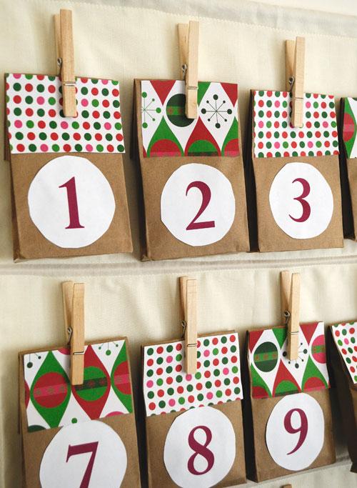 Easy Diy Calendar Ideas : Easy diy advent calendar