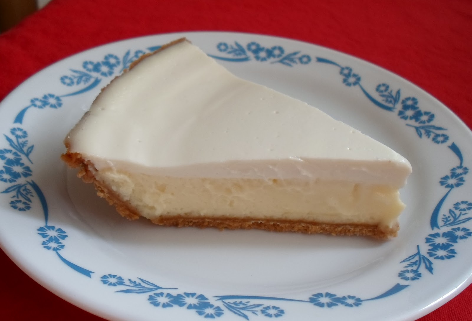 Happier Than A Pig In Mud: Small Cheesecake