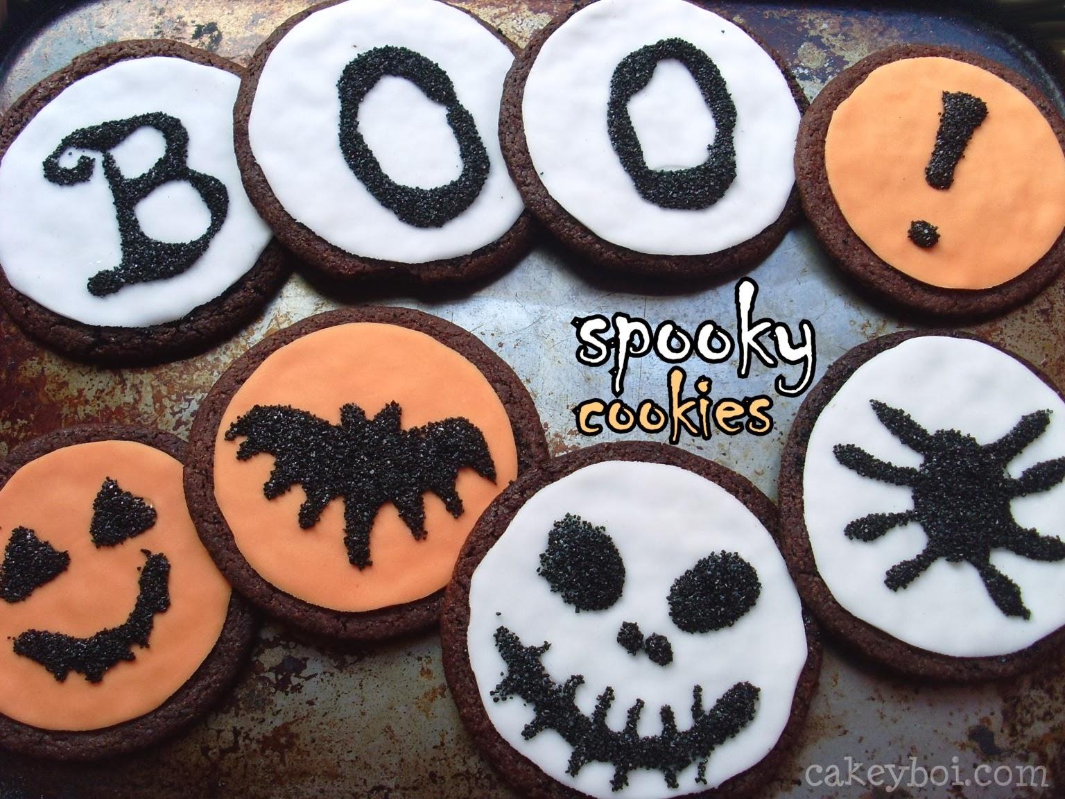chocolate fondant cookies