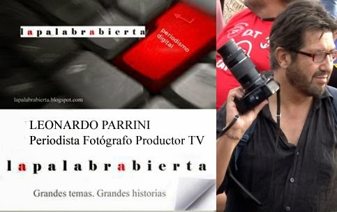 LEONARDO PARRINI PERIODISTA  FOTÓGRAFO PRODUCTOR TV